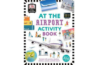 At the Airport Activity Book - Includes more than 300 Stickers