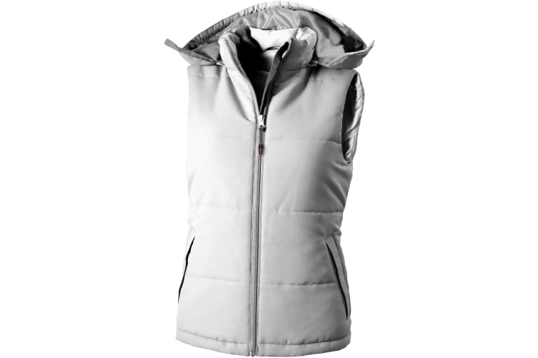 Slazenger Gravel Ladies Bodywarmer (White) (L)