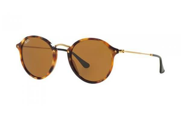 Ray-Ban RB2447 - Spotted Brown Havana (Brown lens) / 52--21--145 Unisex Sunglasses