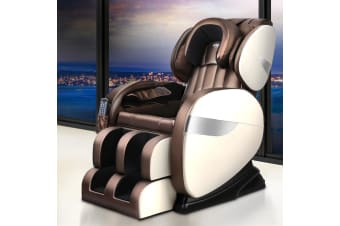 Livemor Electric Massage Chair Zero Gravity Shiatsu Roller Heating