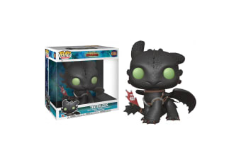 """How to Train Your Dragon 3 Hidden World Toothless 10"""" US Pop"""