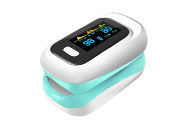 Select Mall Pulse Oximeter Fingertip Oxygen Saturation Monitor with Heart Rate Detection Health Tester Finger ClipSaturation Monitor-Green