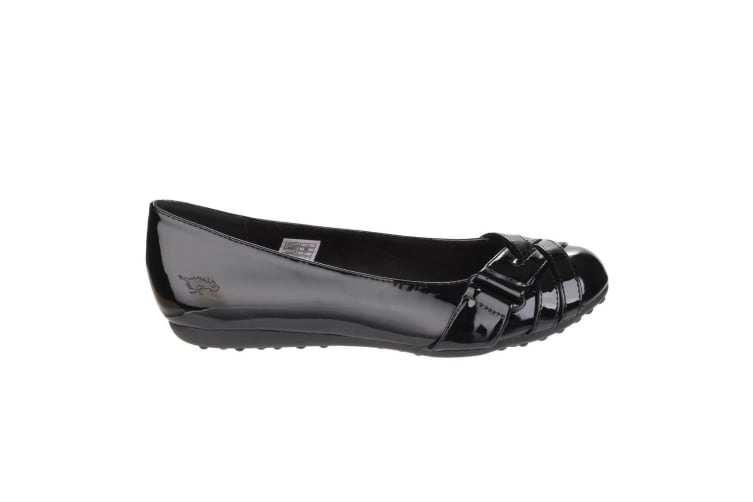 Rocket Dog Womens/Ladies Rebel Slip On Ballerina Shoes (Black) (4 UK)