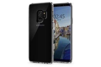 Spigen Galaxy S9 Ultra Hybrid Case Crystal Clear