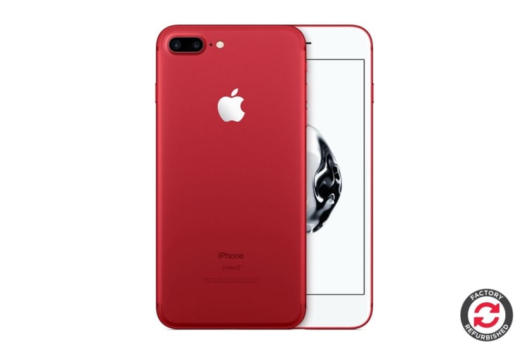 Refurbished Apple iPhone 7 Plus (256GB, RED - Special Edition)