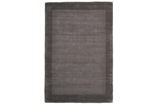Cut and Loop Pile Rug Grey 320x230cm