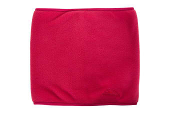 Trespass Adults Unisex Novax Fleece Neck Warmer/Snood (Raspberry) (One size)