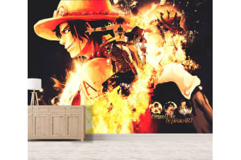 3D Fire Punch Ace 27 Anime Wall Murals Self-adhesive Vinyl, XXL 312cm x 219cm (WxH)(123''x87'')
