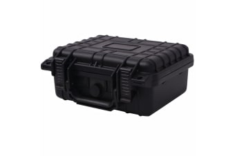 vidaXL Protective Equipment Case 27x24.6x12.4 cm Black