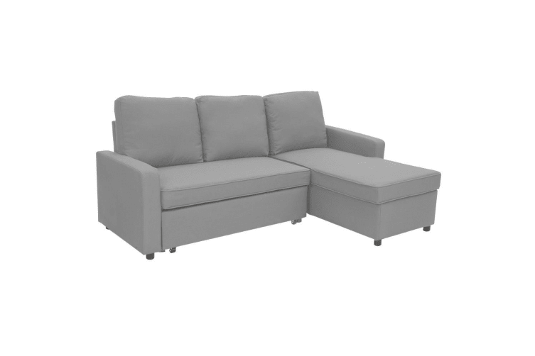 Dick Smith 3 Seater Corner Sofa Bed W Storage Lounge Chaise
