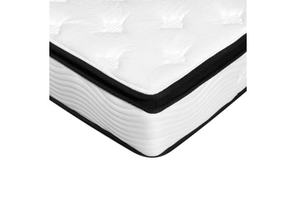 Giselle Bedding 28CM Latex Pillow-Top Pocket Spring Mattress (King Single)