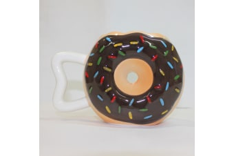 Coffee Cup Vivid Donuts Milk Cup Ceramic Lovers Mug Cute Birthday Gift Fast Post  -  B