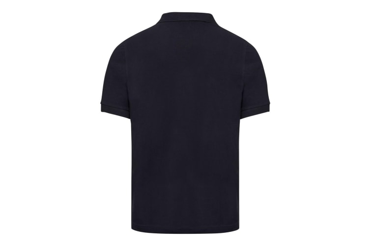 Russell Mens Tailored Stretch Pique Polo Shirt (French Navy) (XXL)