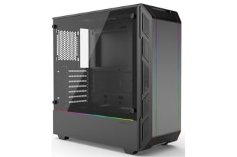 Phanteks Eclipse P350X Mid Tower Case with Tempered Glass
