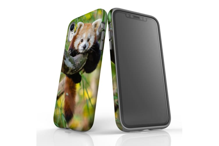 For iPhone XR Case  Protective Back Cover  Red Panda