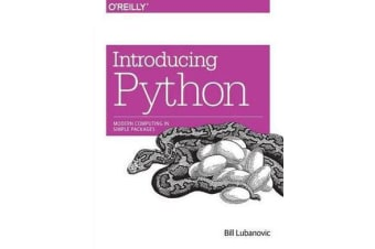 Introducing Python - Modern Computing in Simple Packages