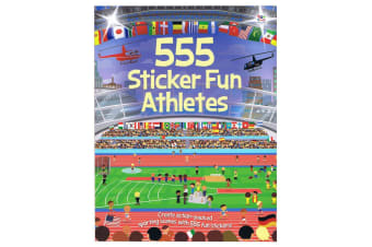 555 Sticker Fun Athletes