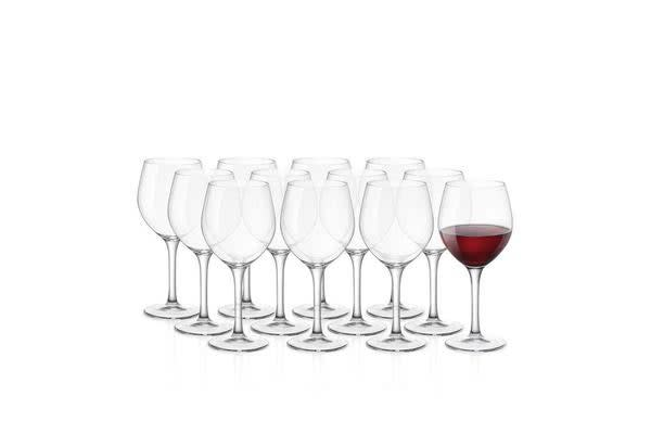 Bormioli Rocco Kalix Burgundy Wine Glass 450ml Set of 12