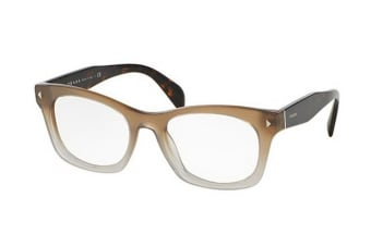 Prada PR11SV UBJ1O1 53 Taupe Shaded Womens Glasses