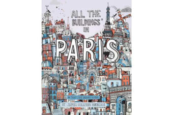 All the Buildings in Paris - That I've Drawn So Far