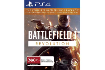 BATTLEFIELD 1 REVOLUTION PS4 PlayStation 4 Game - Disc Like New
