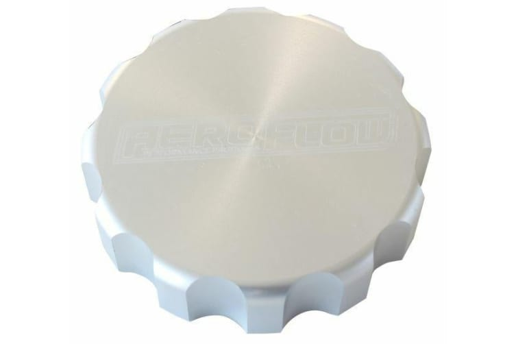 Aeroflow Aeroflow Radiator Cap Cover Small Style Cap Raw Alloy