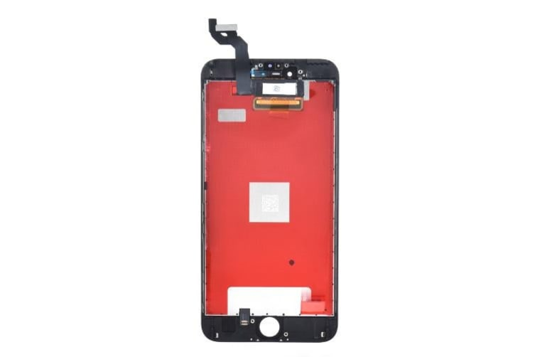5.5 Inches Phone Parts for iPhone 6S Plus Outer LCD Capacitive Screen Multi-touch Digitizer Replacement Assembly Front Glass Replacement IC-black
