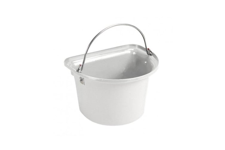 Stubbs Flat Sided Bucket (White) (One Size)