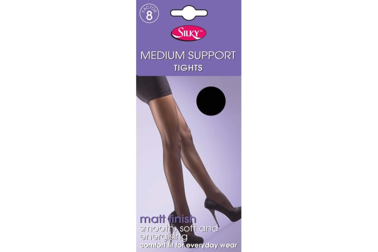 "Silky Ladies Medium Support Tights (1 Pair) (Sherry) (Medium (36""-42""))"