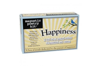 The Original Magnetic Poetry Kits - Happiness
