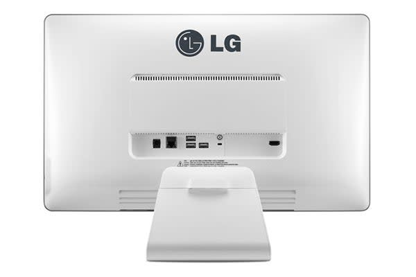"LG 22"" Full HD IPS All-in-One Chromebase Desktop Computer with Mouse and Keyboard (22CV241)"