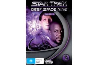 Star Trek Deep Space Nine Series 5 DVD Region 4