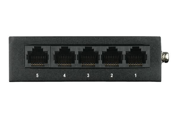 D-Link 5-Port Gigabit Desktop Switch with Metal Housing (DGS-105)