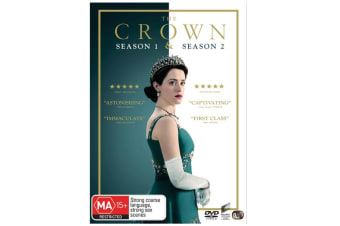 The Crown Season 1 & 2 One & Two Box Set DVD Region 4 NEW DVD Region 4