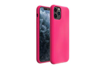 ZUSLAB iPhone 11 Pro Case Nano Silicone Shockproof Gel Rubber Bumper Protective Cover for Apple - Hot Pink