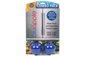 Bluapple Classic + Activated Carbon Fruit & Vegetable Life Extender Combo Pack