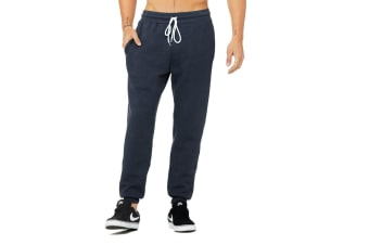 Canvas Unisex Jogger Sweatpants (Heather Navy)