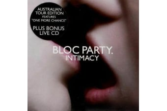BLOC PARTY - INTIMACY (IMPORT) NEW CD