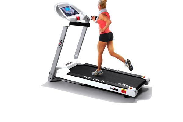 Electric Treadmill with 18 Speed & Incline Programs