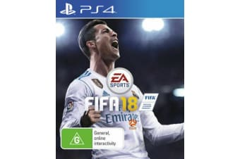 FIFA 18 PS4 PlayStation 4 (PAL) (Open Box)