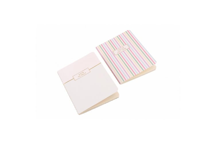 Willow & Rose Note To Self Notebooks (Set Of 2) (Multicoloured) (One Size)