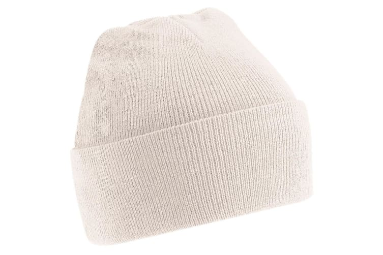 Beechfield Soft Feel Knitted Winter Hat (Sand) (One Size)