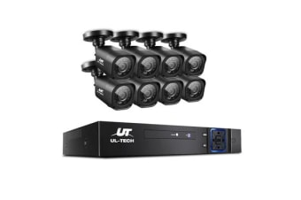 CCTV Security 8 Cameras 1080P HDMI 8CH DVR Video Home Outdoor IP System