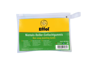 Effol Non-Snap Plaiting Bands (400 Pack) (Colourless)