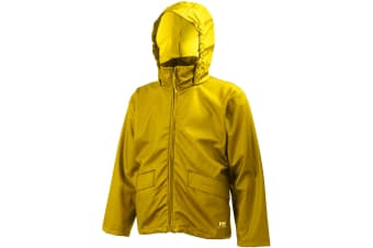 Helly Hansen Voss Waterproof Jacket / Mens Workwear (Yellow)