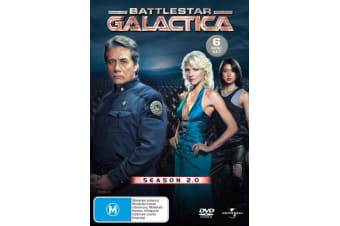 Battlestar Galactica Season 2 DVD Region 4