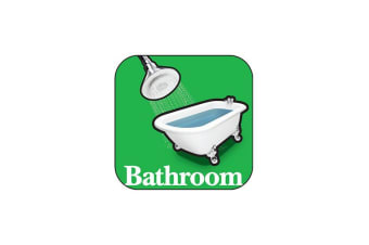 Toilet And Bathroom Orientation Signage - Green