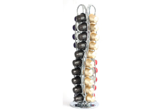 Wiltshire Rotating Nespresso Coffee Capsule Holder - Holds 40 Capsules
