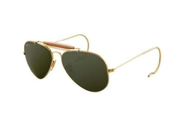 3b04b81a4e Shoes   Fashion     Sunglasses · Ray Ban. Ray Ban RB3030 - Gold (Grey Green  lens) Mens Sunglasses