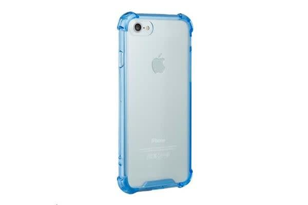 NVS iPhone 7 Clear Shield Case - Blue